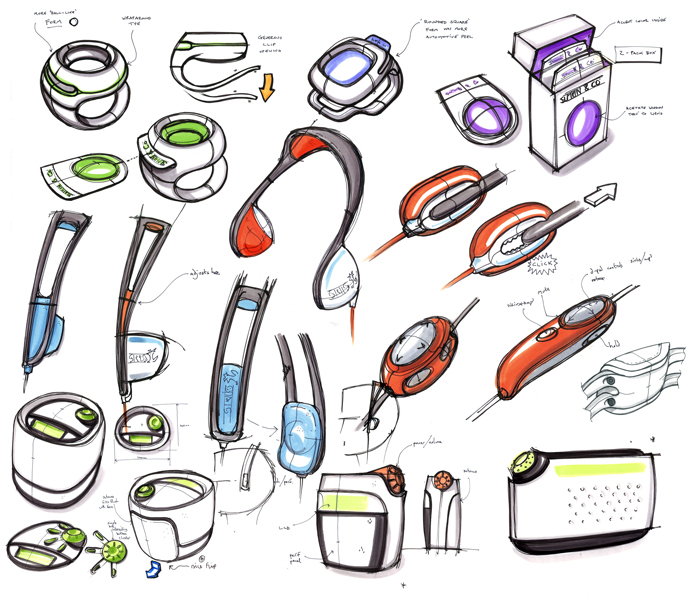 Sketch development by gaz brown at for Good industrial design