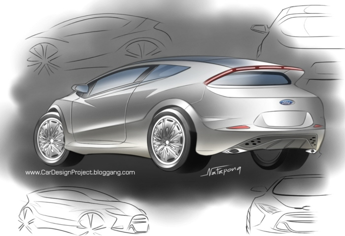 car design  natapong puangpinyo  coroflotcom