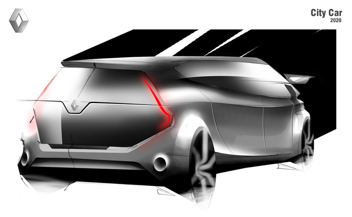Renault City Car 2020 2010 By Cristian Ciuraneta At