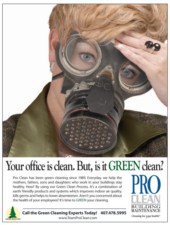 Portfolio by Adam Evans at Coroflot – Pro Clean Building Maintenance