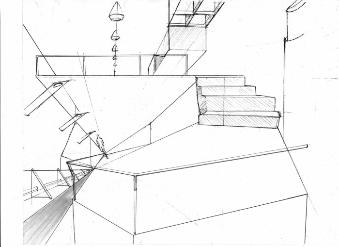 Raw architecture drawings by jamal givens at Full size architectural drawings