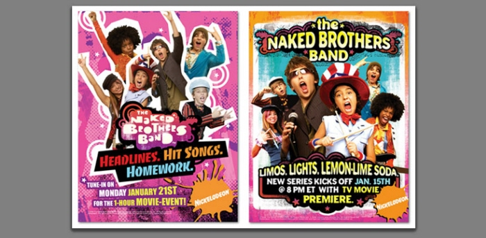 naked brothers band posters