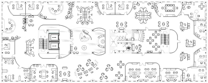 Autocad drawings by christin menendez at for Corporate office design plan