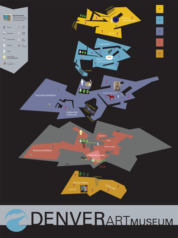 Denver Art Museum Map Related Keywords Amp Suggestions