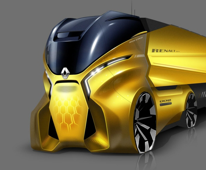 Concept Renault Truck Design by Boris Wang at Coroflot.com