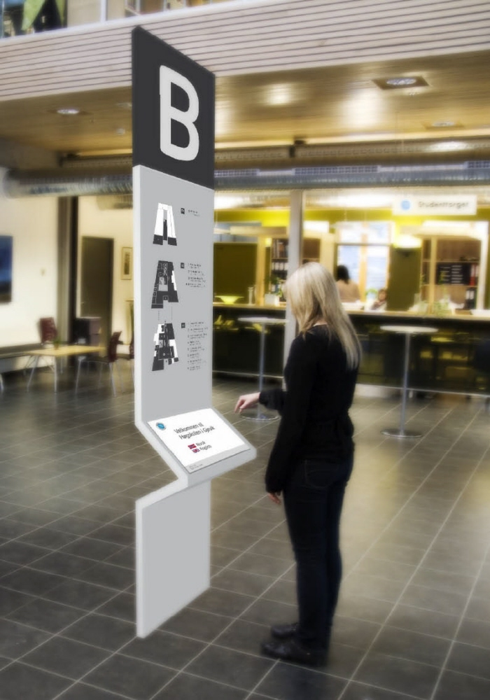 Wayfinding Design At University Campus By Magnus Andersen