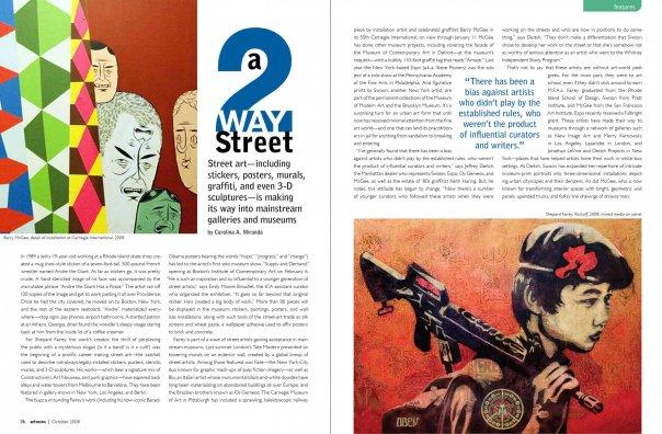 Art News Magazine Redesign By Erin Stuart At Coroflot Com