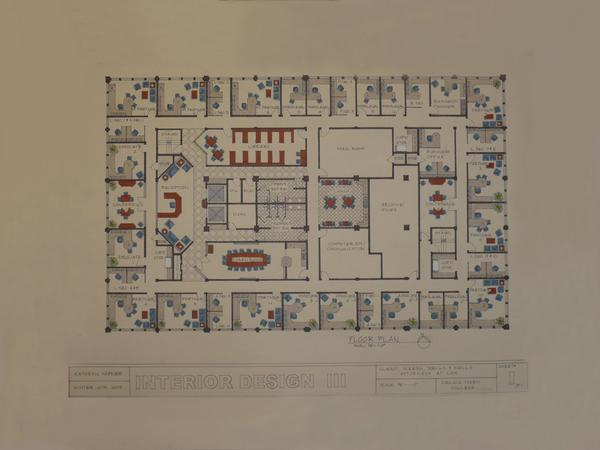 Law Office Floor Plan: Trasitional Law Office Concept Project By Kady Wiggin At