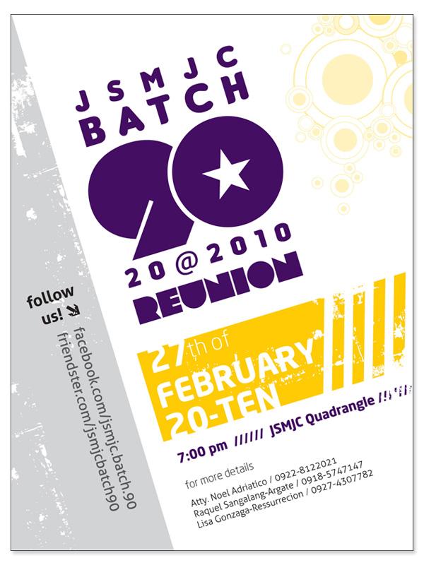 Reunion Poster Reunion Poster Juan Sumulong