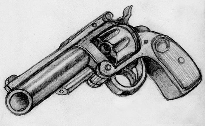 how to draw a shotgun dragoart