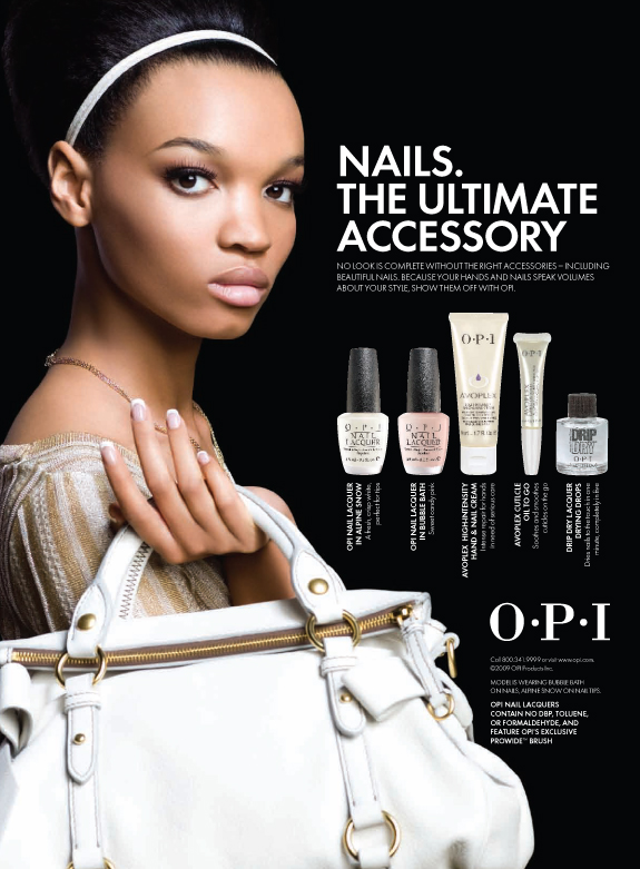 Miscellaneous Beauty Advertising For Opi By Jennifer