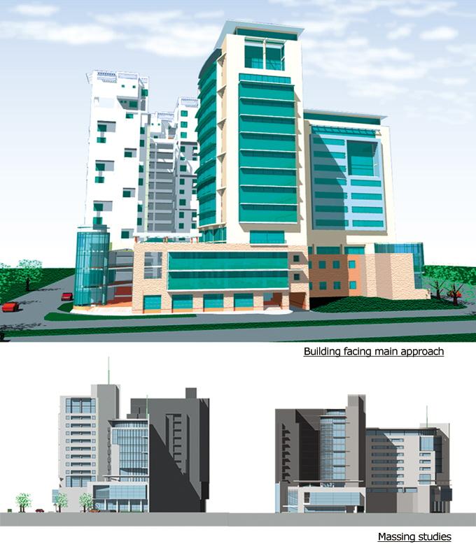 Front Elevation For New 5th Floor Building Joy Studio