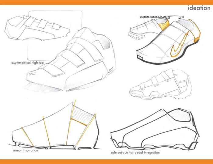 nike 鞋子设计