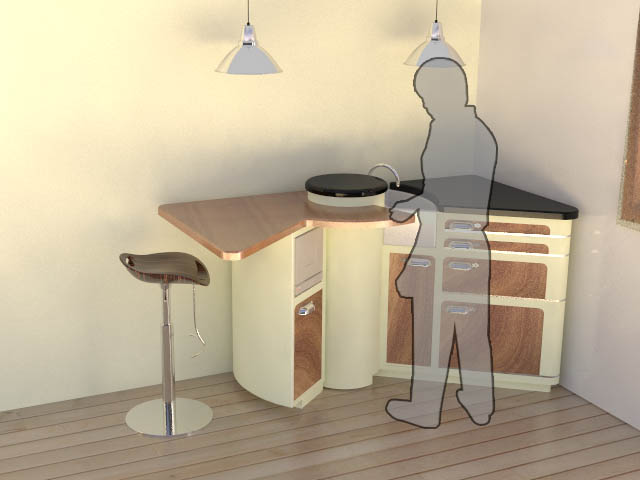Micro Kitchen By Ashley Hribar-Green At Coroflot.Com