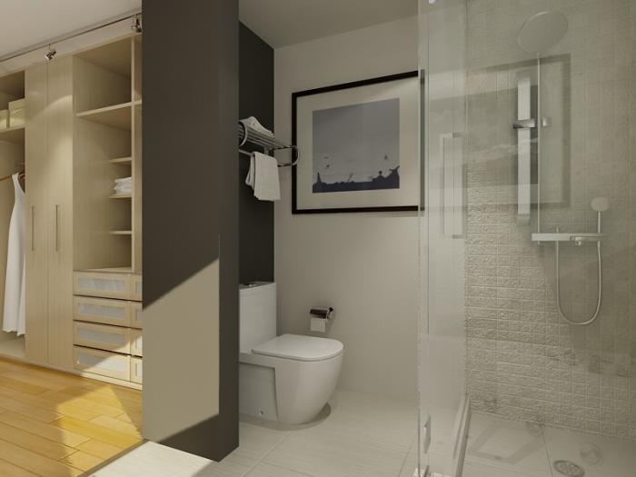Closet Bathroom Design master closet design ideas
