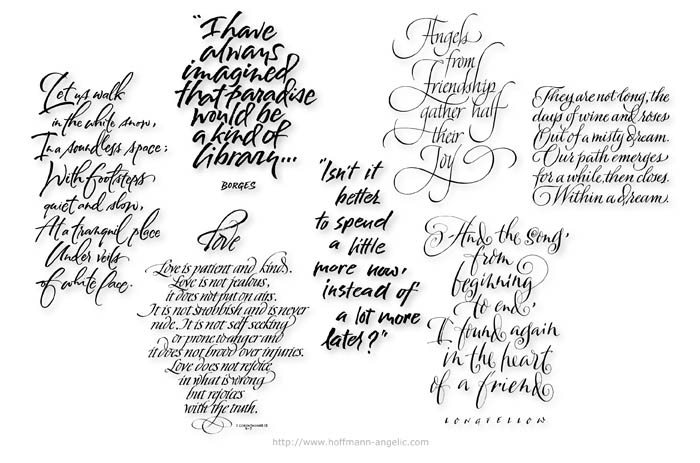 Different Types of Lettering Styles