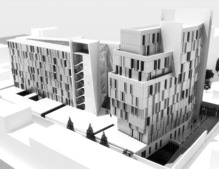 Politecnico di milano student housing by simone caimi at for Interior design politecnico di milano