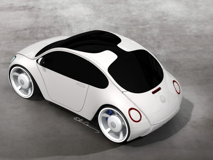 VW Beetle Concept by Edwin Conan at Coroflot.com