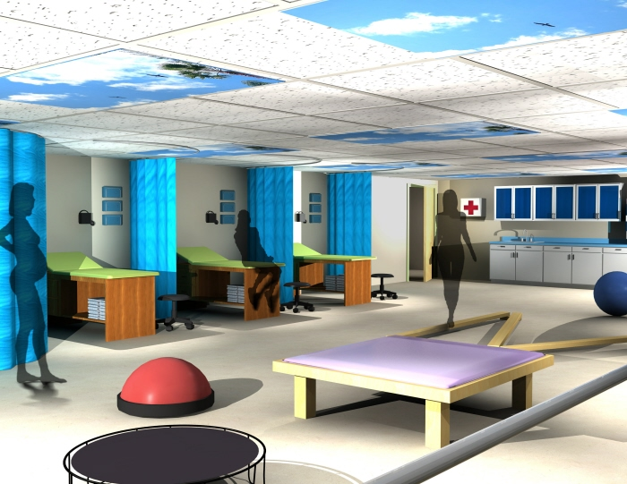 Bon maten relief clinic by courtney williams at for Physical therapy office layout