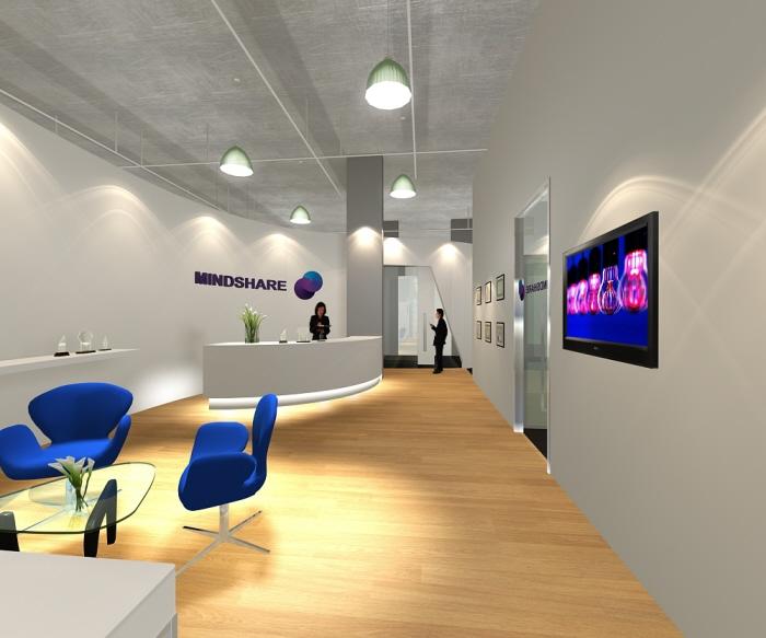 portfolio reception area design
