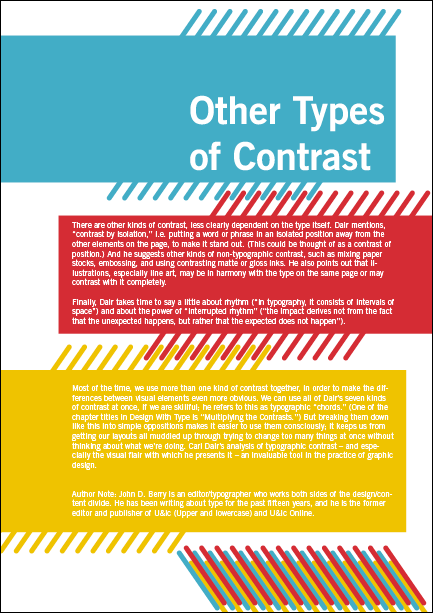 Seven principles of type contrast by igor provod at Types of contrast