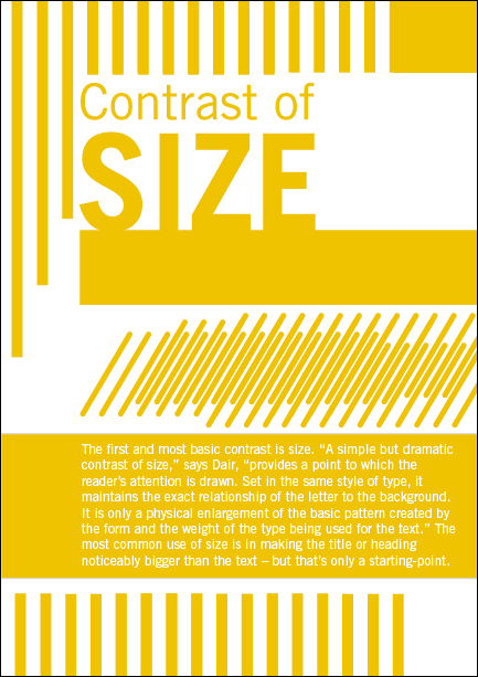 Seven Principles Of Type Contrast By Igor Provod At