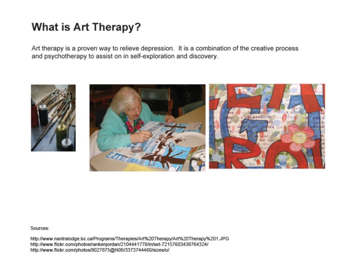 thesis on art therapy