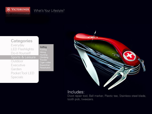 Swiss Army Knife Campaign By Michael Thies At Coroflot Com