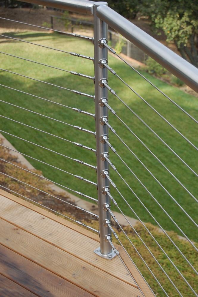 Stainless steel railing california by matt nestor at