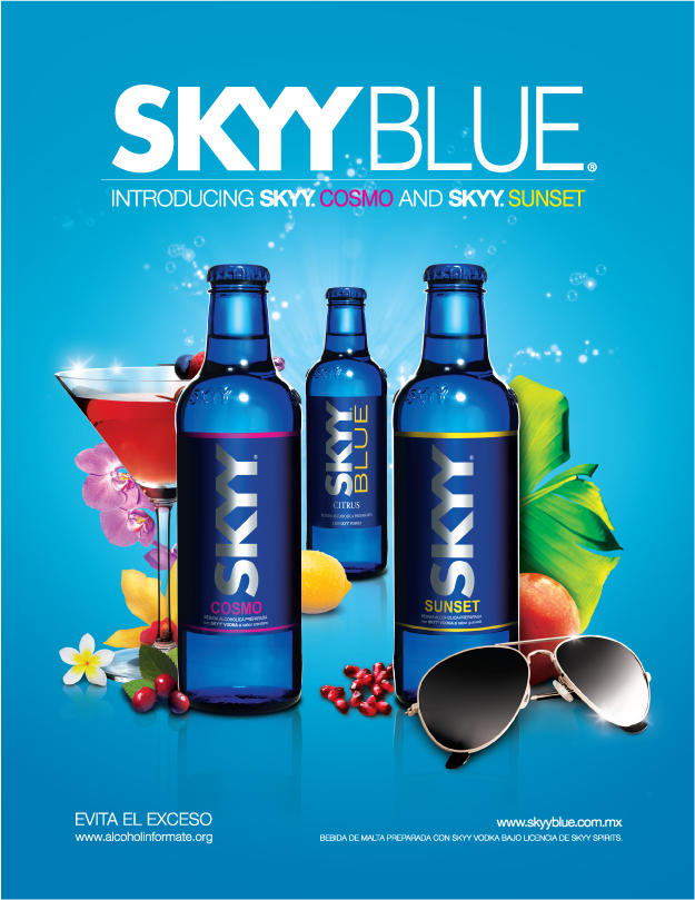 SKYY BLUE By Luis Rada At Coroflotcom - Cosmo mexico