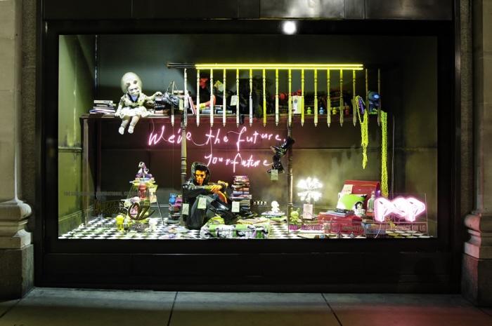 Selfridges window displays by paul baker model maker at - Selfridges head office telephone number ...