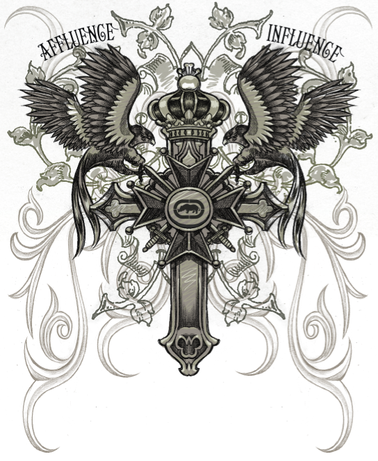Affliction Artwork Affliction style treatments by