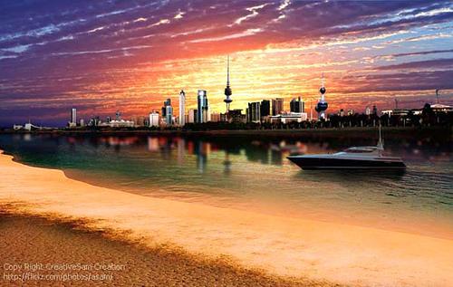 Graphics by abdus samad at for Garden design kuwait