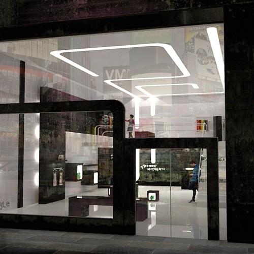 Shop Front Design Retail: Commercial Interior Design By Helena Michel At Coroflot.com