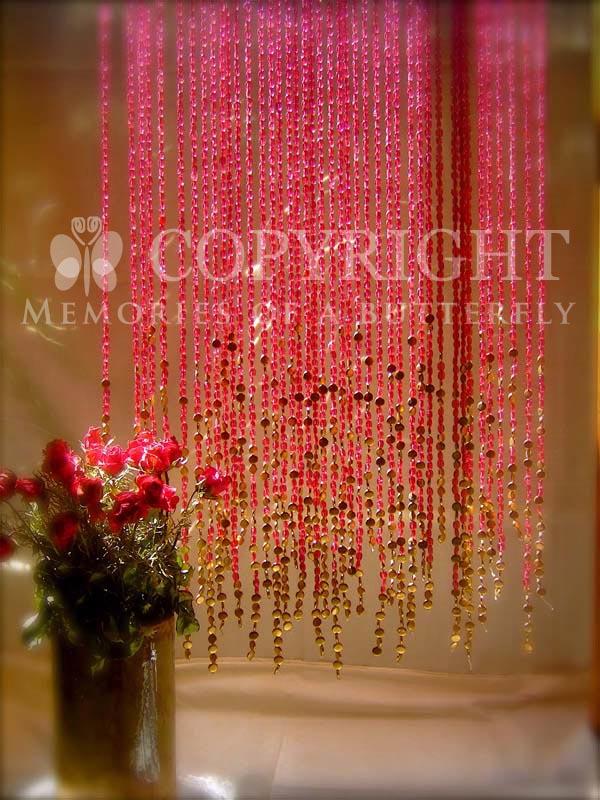 Bead Curtains & Screens by Sreeti Mondol at Coroflot.com