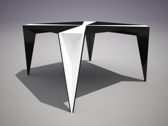 TETRAGON Design Table