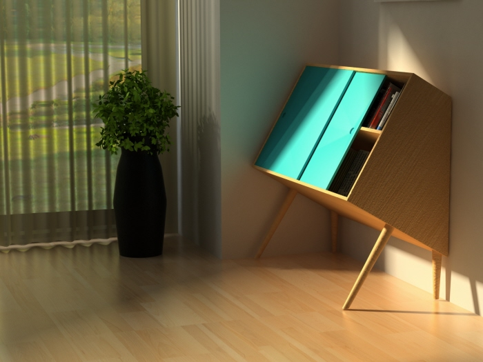 Chin Up Storage Unit By Lisa Sandall At Coroflotcom - Furniture storage