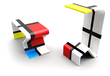 Exploring The Functionalism Of The Bauhaus Time Altogether With The  Neoplasticism By Pieter Cornelis Mondrian, The Furniture 23x11u003d72 Was  Developed By The ...