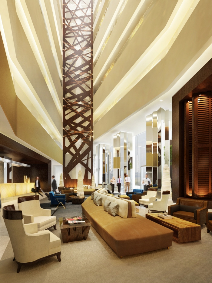 Blue diamond with design worldwide partnership 2010 by for Luxury hotel interior