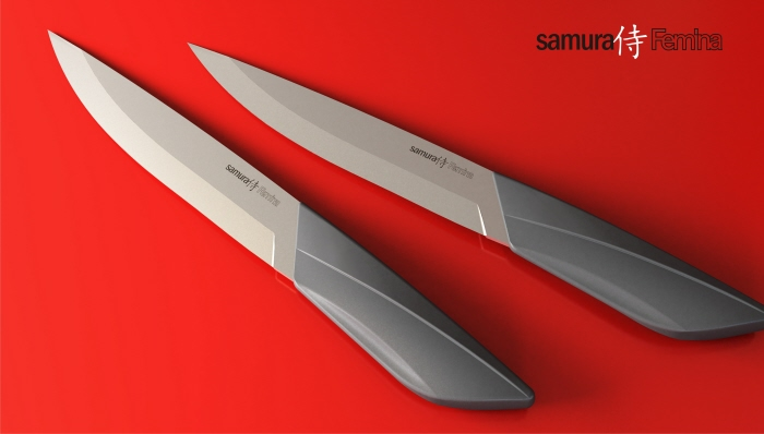 Kitchen Knife By Olga Kalugina At