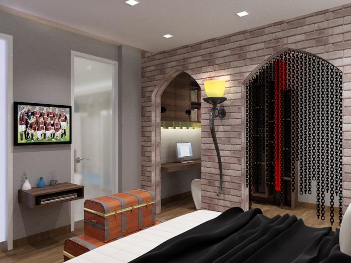 Interior design by jin xing at coroflot