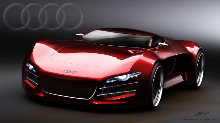 Fourtitudecom Audi R Road Car Design Suggests Audi R Replacement - Audi car design