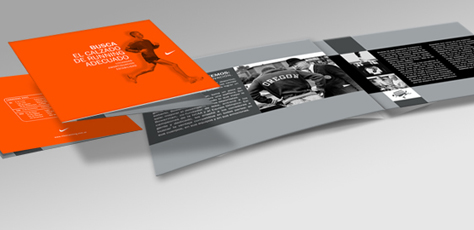 Print by yamila llanir at for Nike brochure design