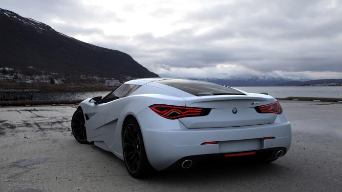 BMW M9 Concept Car