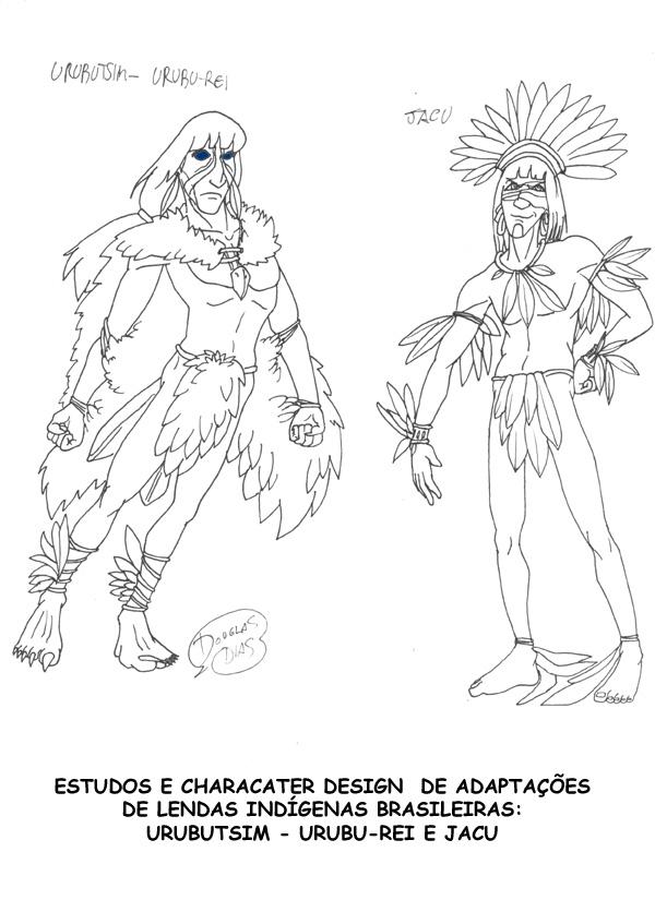 Character Design Jobs : Character design by douglas dias at coroflot