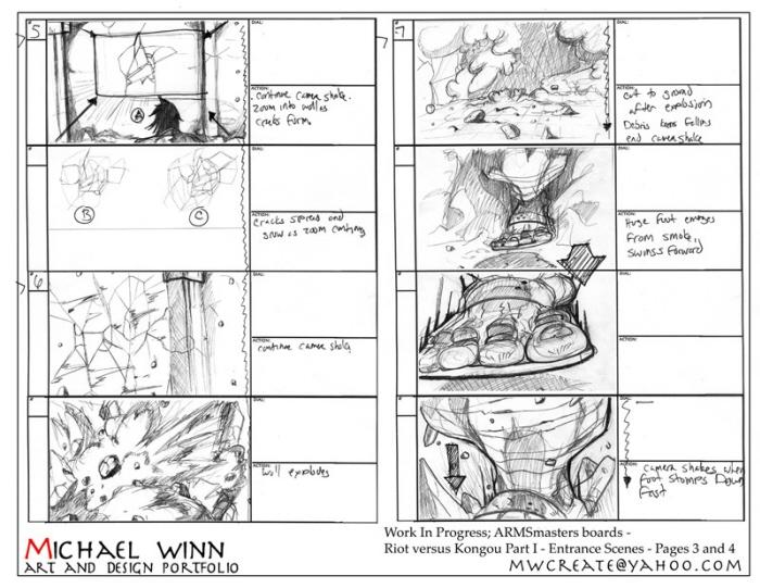 Storyboard And Layout Design By Michael Winn At Coroflot