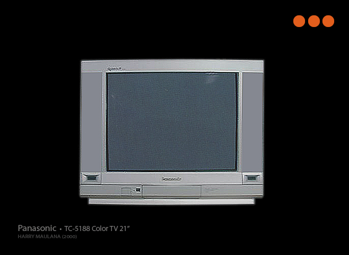 2000 Color Tv 21 Inch Flat Screen By Harry Maulana At