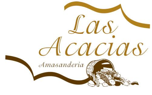 ... acacias logotipo relacionado con el rubro de la panaderia y pasteleria