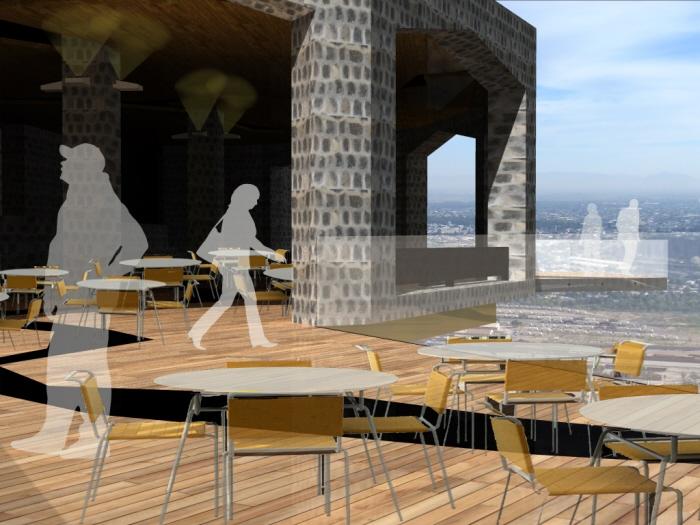 Restaurante cerro de las noas by arquitectura dise o at for Restaurante arquitectura