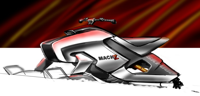 Brp ski doo by martin portelance at coroflot mach z concept sketch 2006 sciox Images